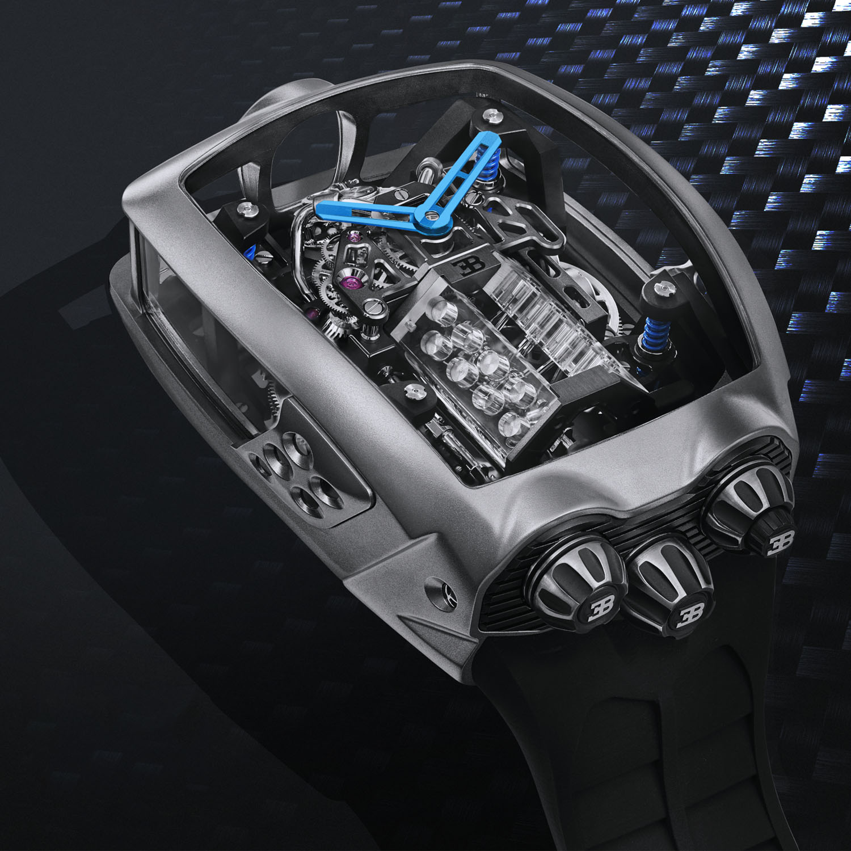 Jacob and Co Bugatti Chiron Tourbillon 1