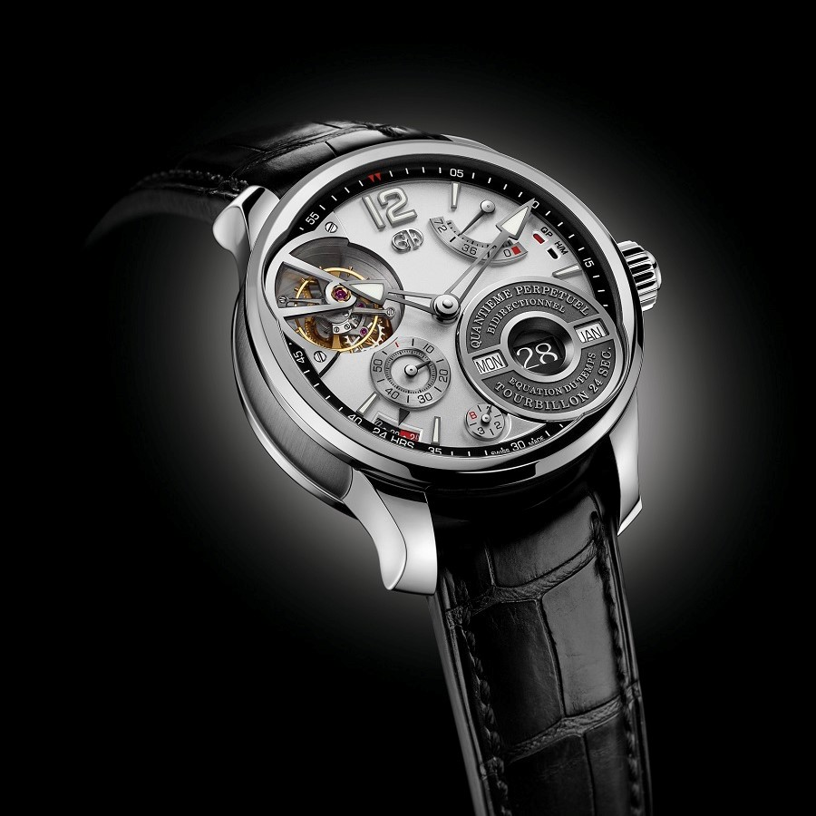 QP aÇ Equation Greubel Forsey GPHG 2017 Recto S1