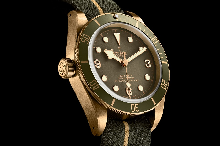 Tudor Black Bay Bronze One LHD khaki green dial Only Watch 2017 3S
