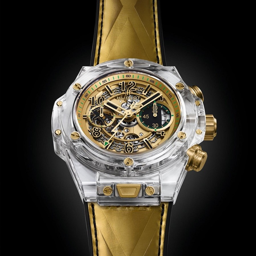 big bang unico sapphire usain bolt for only watch 8S