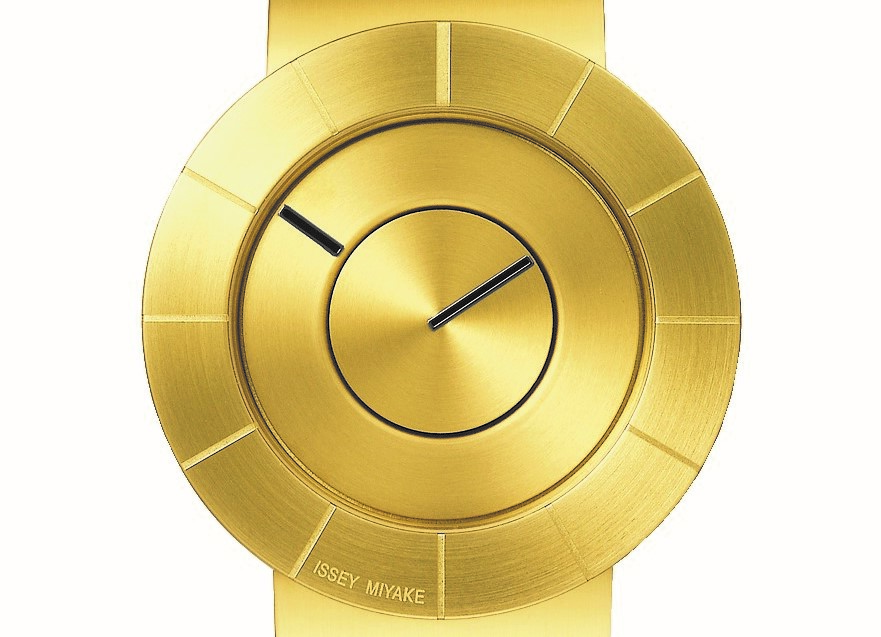 Issey Miyake TO Champagne Gold DIAL